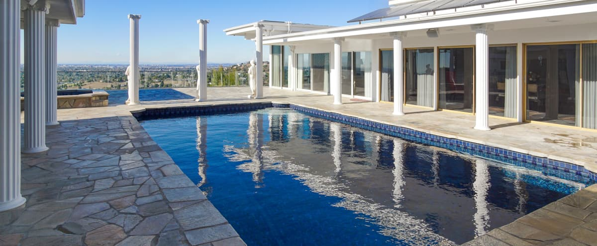 Roman/Greek Style Mansion In The Hills in Santa Ana Hero Image in undefined, Santa Ana, CA