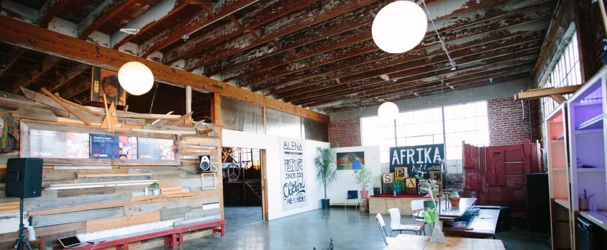 Eclectic Mixed Use Warehouse Loft Event Space in Oakland Hero Image in West Oakland, Oakland, CA