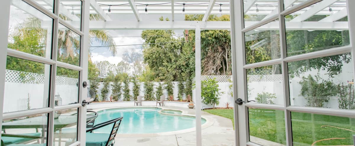 Amazing Sherman Oaks Private House with Gorgeous Pool/Garden in Sherman Oaks Hero Image in Sherman Oaks, Sherman Oaks, CA