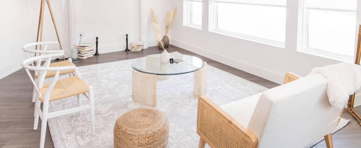Natural Light Studio With Modern Contemporary Staged Areas & Open Spaces in Dallas Hero Image in undefined, Dallas, TX