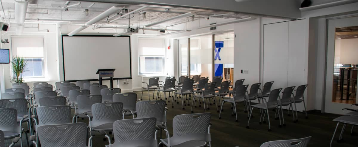Physically Distanced and Safe! Extra Large, Bright, Modern, Collaborative Workspace in the Heart of the Loop - Great City Views! in Chicago Hero Image in The Loop, Chicago, IL