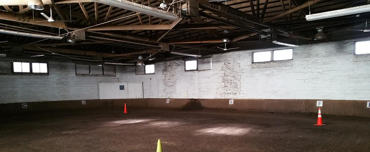 Picturesque Urban Horse Stable with Indoor Arena in Forest Hills Hero Image in Forest Hills, Forest Hills, NY