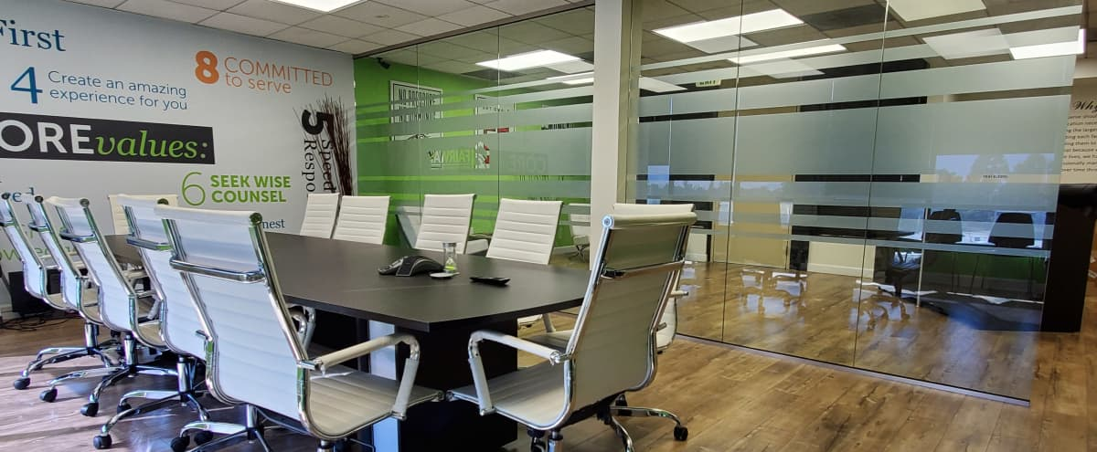 Modern Office with Glass Conference Room in Woodland hills Hero Image in Woodland Hills, Woodland hills, CA