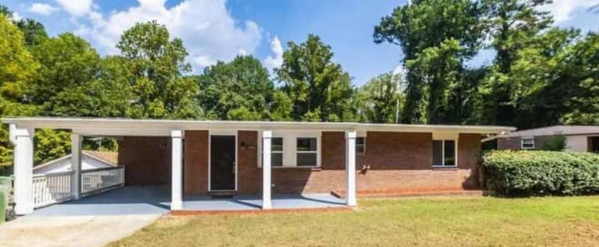Little Brick House with big backyard in Atlanta Hero Image in Orchard Knob, Atlanta, GA
