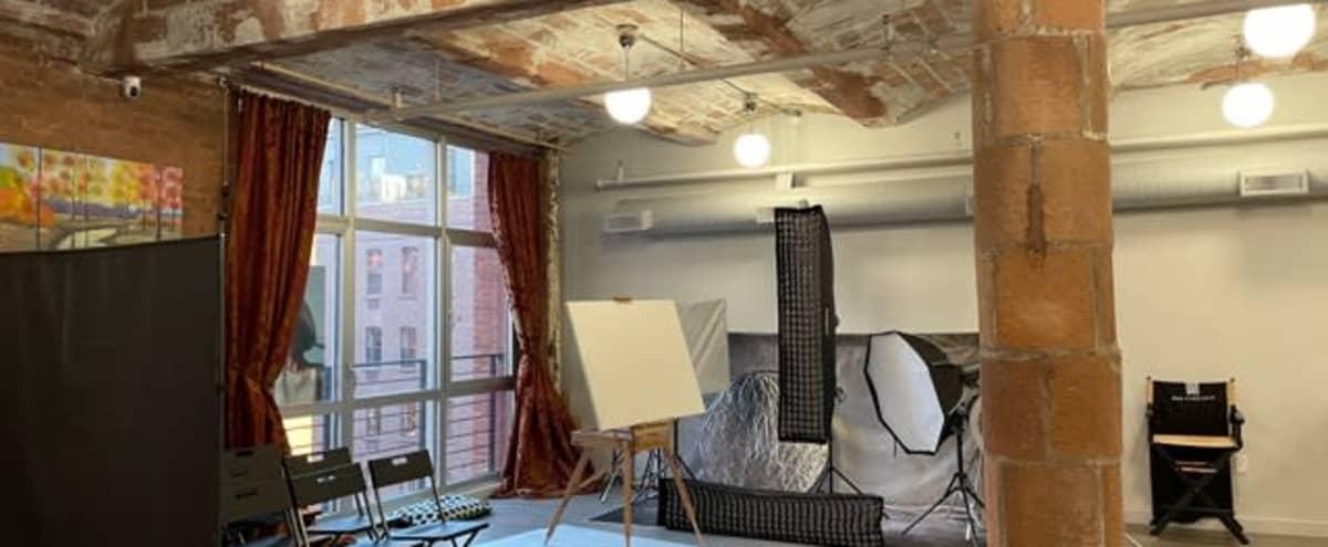 Fully Equipped Rental Loft Studio in Brooklyn Dumbo in Brooklyn Hero Image in Vinegar Hill, Brooklyn, NY