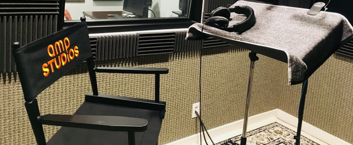 Modern VO Booth & Editing Suite in Dallas Hero Image in Lake Highlands, Dallas, TX