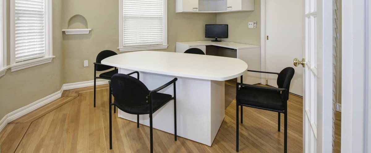 Meeting Room for 4 Near Sacramento (Suite 203) in Sacramento Hero Image in East Sacramento, Sacramento, CA