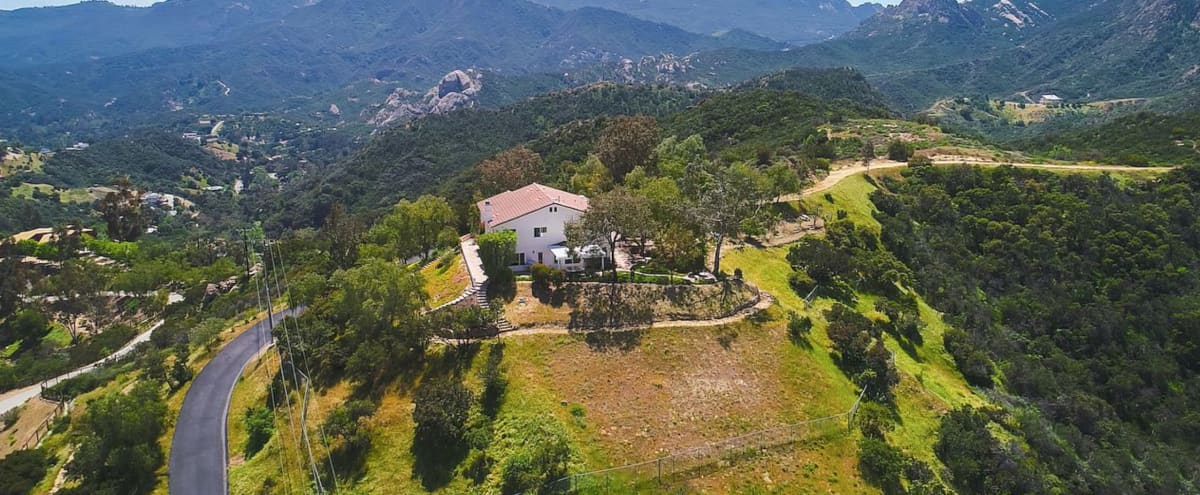 French Provence Style Home on The Ridge with 360 Mountain Views in Topanga Hero Image in undefined, Topanga, CA