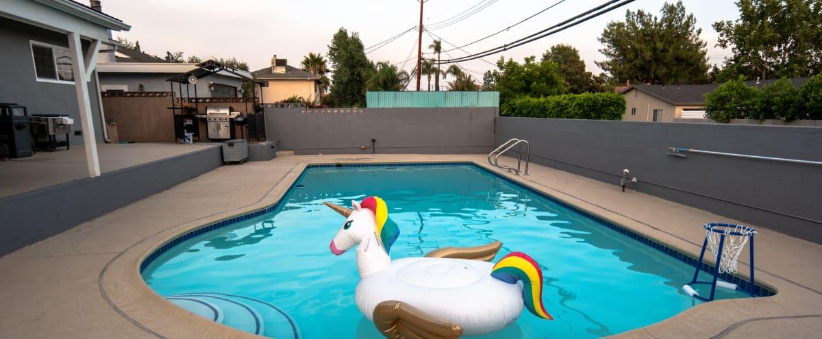 Modern Open Floor Plan w/ large pool inviting deck in Northridge Hero Image in Northridge, Northridge, CA