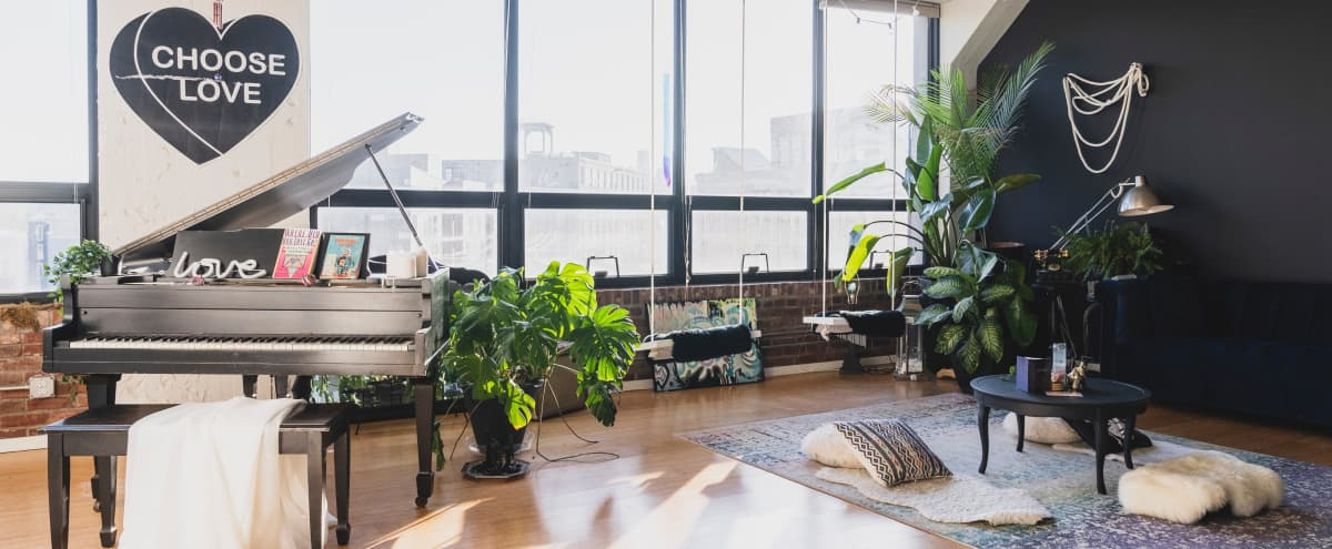 Fishtown Penthouse Loft with Skyline View in Philadelphia Hero Image in Fishtown, Philadelphia, PA