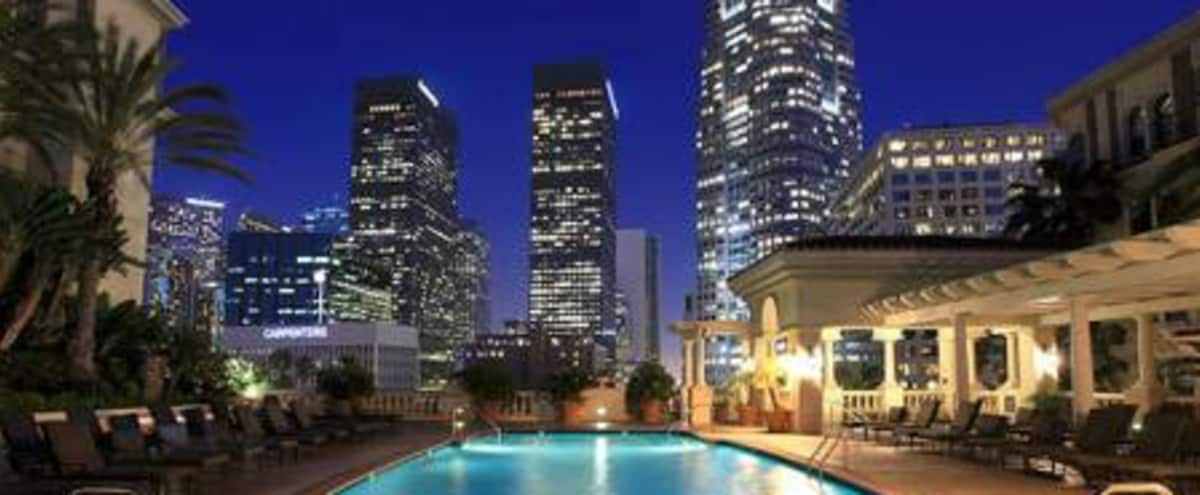 Luxury 2BR apt with downtown skyline view in Los Angeles Hero Image in Central LA, Los Angeles, CA