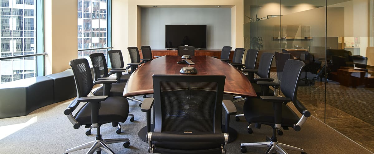 Video Conference Room in San Francisco Hero Image in Financial District, San Francisco, CA