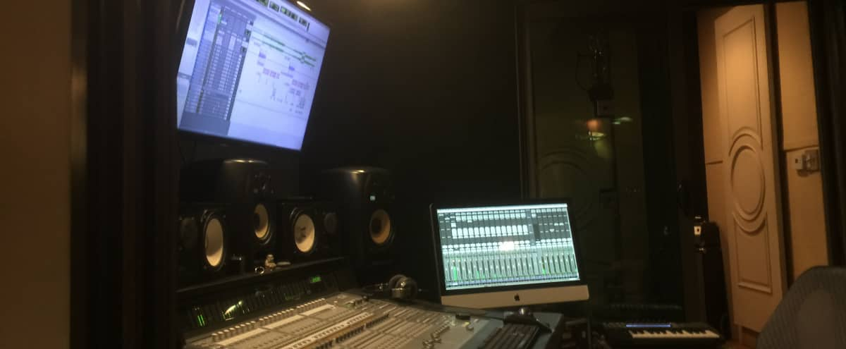 Perfect Recording Studio in the Heart of Hollywood with Spacious Climate Controlled Iso Booth in Los Angeles Hero Image in Central LA, Los Angeles, CA