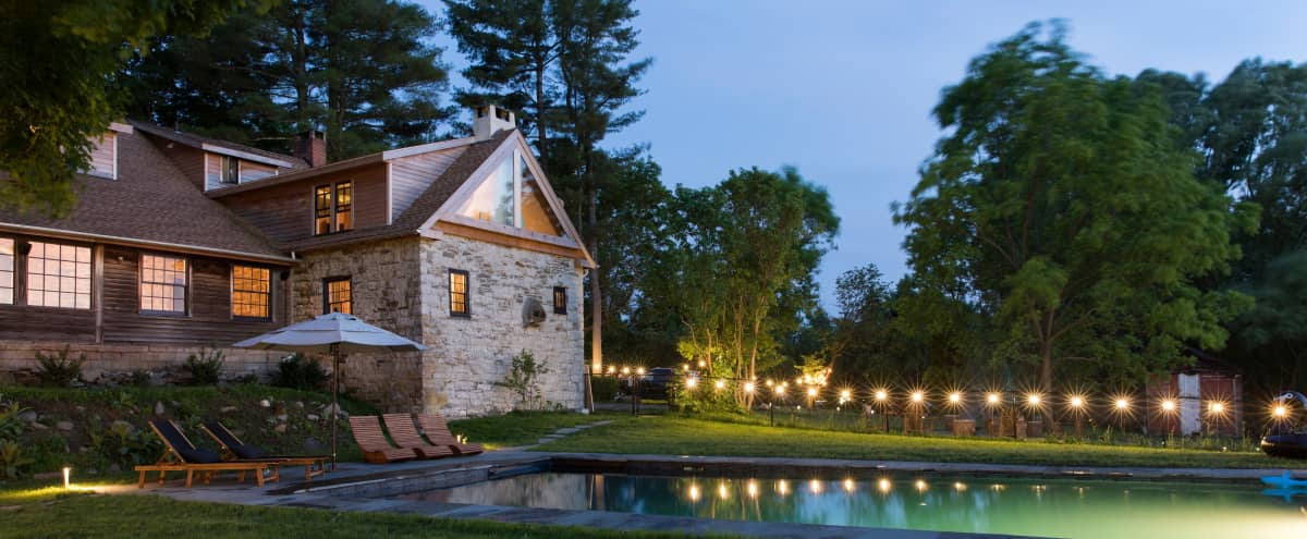 A Stonehouse from 1780 Complete Renovated a Mix of Modern and Traditional in Kingston Hero Image in undefined, Kingston, NY