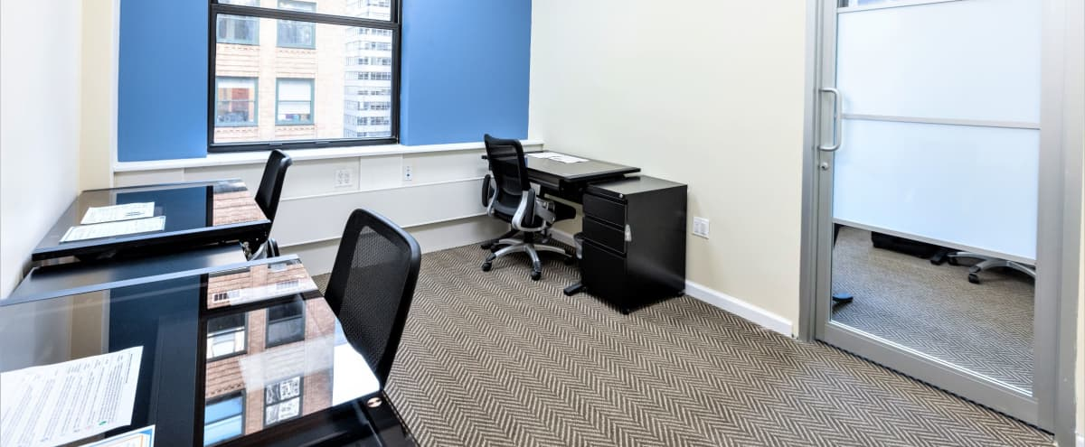 Private Window office for up to 4 people - Plaza District in New York Hero Image in Midtown Manhattan, New York, NY