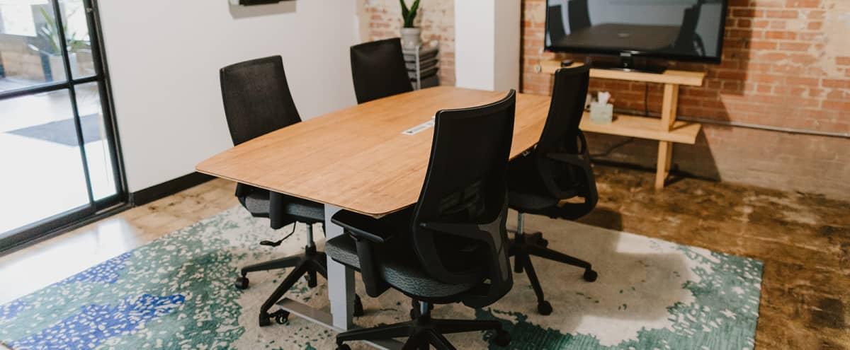 Cozy Conference Room in Industrial Coworking Space in Dallas Hero Image in South Dallas, Dallas, TX