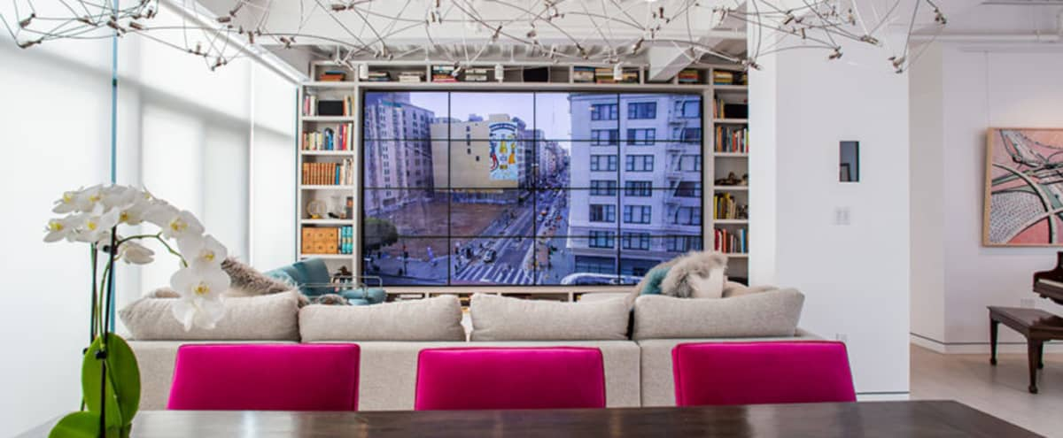 Downtown Loft with 60' skylight and 17' TV wall in Los Angeles Hero Image in Central LA, Los Angeles, CA