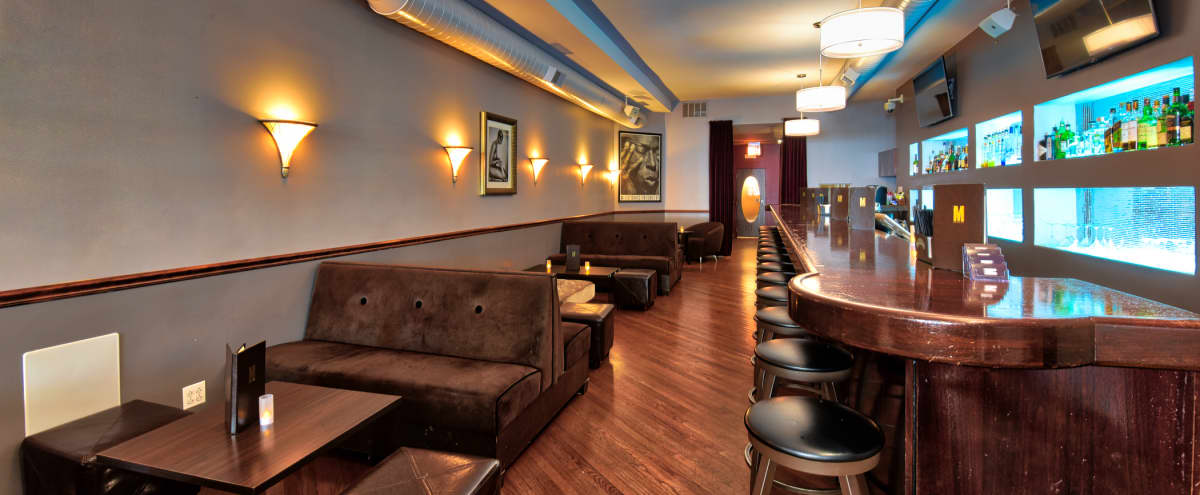 Warm, Inviting South Loop Martini Lounge near McCormick Place in Chicago Hero Image in South Loop, Chicago, IL