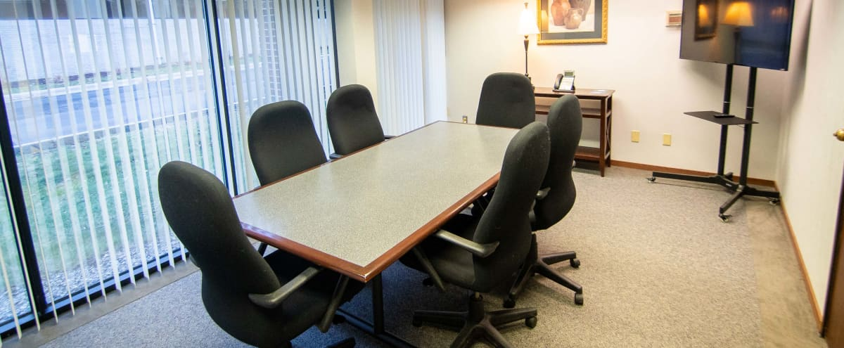 Private Meeting Room w/ TV & Large Window - Southfield in Southfield Hero Image in undefined, Southfield, MI