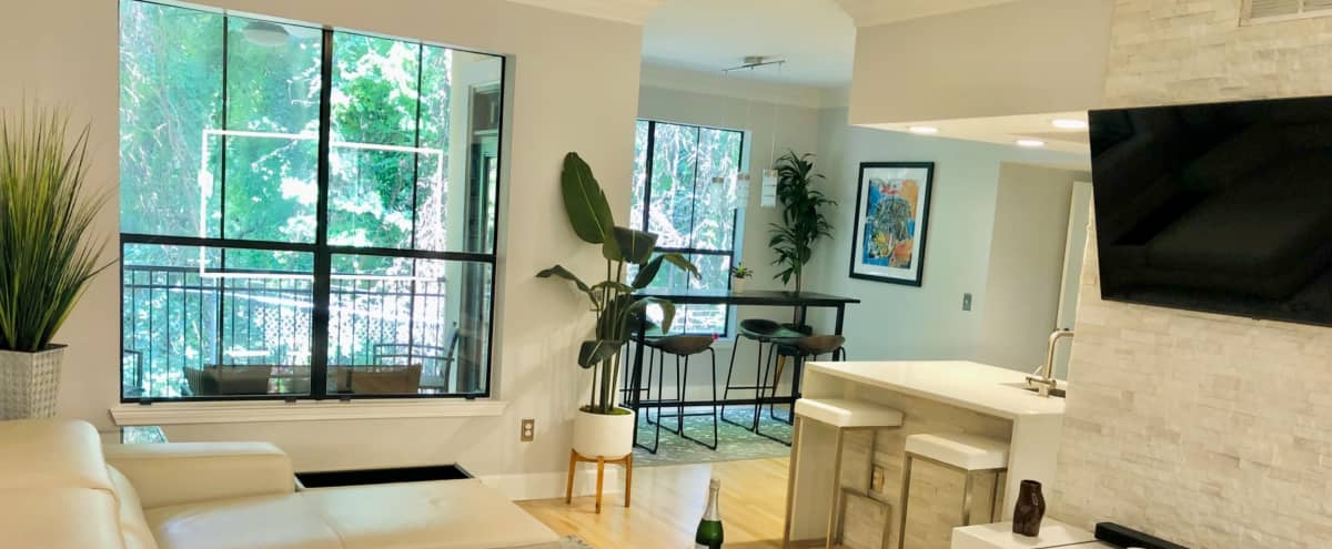 Artistic Modern Space; Buckhead Lifestyle; Nature View Condo. in Atlanta Hero Image in undefined, Atlanta, GA