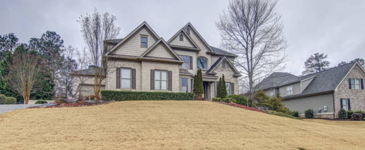 Resort Style Home in Upscale neighborhood w/Heated executive style pool in Lawrenceville Hero Image in undefined, Lawrenceville, GA