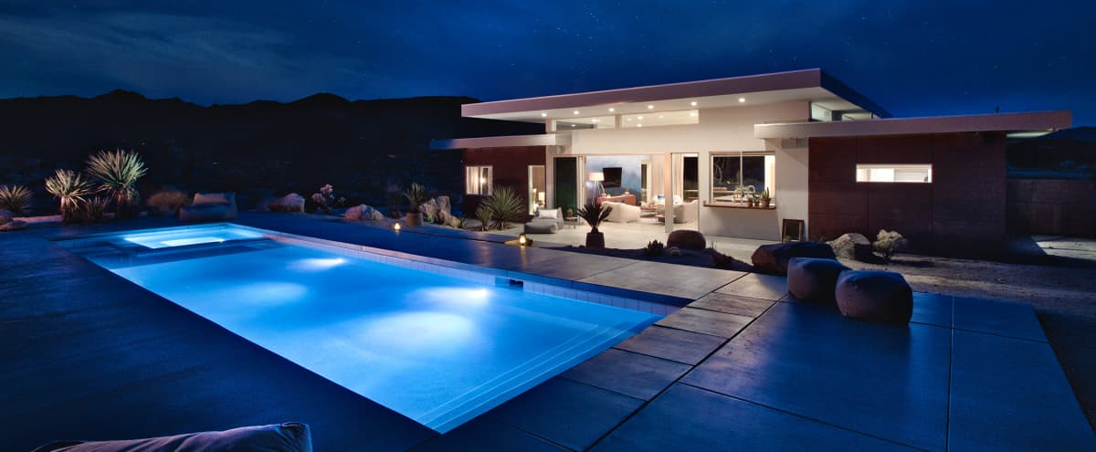 SkyHouse Joshua Tree: Private Villa with Pool/Spa in joshua tree Hero Image in undefined, joshua tree, CA