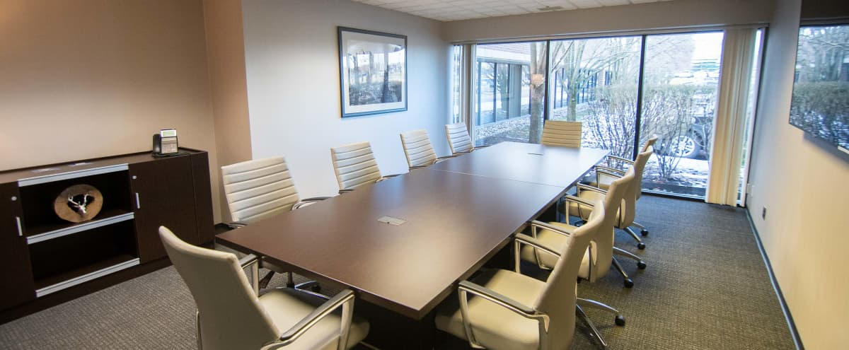 Bright - Luxurious Conference Room - 10 People in Livonia Hero Image in undefined, Livonia, MI