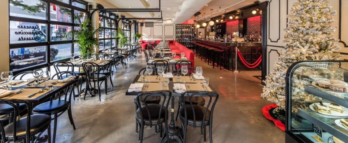 Trendy Restaurant In Vibrant Neighborhood
