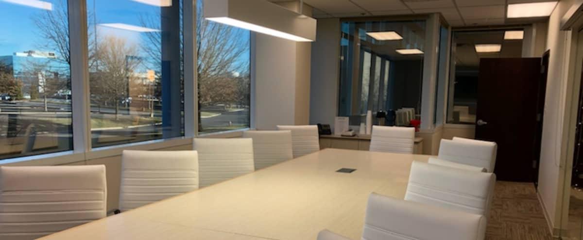 Attractive, modern boardroom for your next meeting in Mt. Laurel Hero Image in undefined, Mt. Laurel, NJ