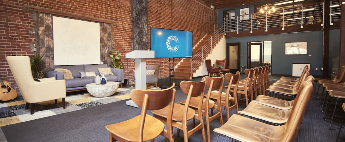 Open, Stylish Offsite and Conference Space near Moscone Center in San Francisco Hero Image in SoMa, San Francisco, CA