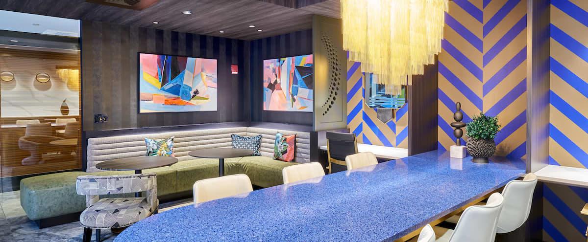 Fun and Stylish Club Lounge in DC in Washington Hero Image in Columbia Heights, Washington, DC
