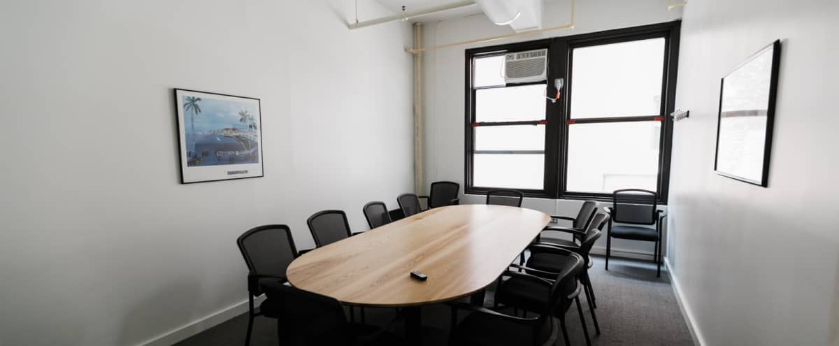 10 Person Private Conference/Classroom-style Room (#12) in New York Hero Image in Midtown, New York, NY