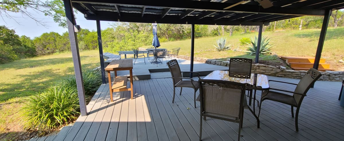 Hill Country Studio & Outdoor Space in Austin Hero Image in Hillside Vista, Austin, TX