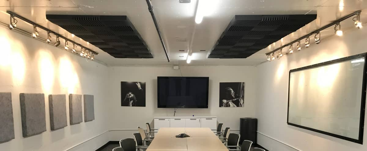 Industrial Meeting Room with Great Lighting in Denver Hero Image in Central, Denver, CO