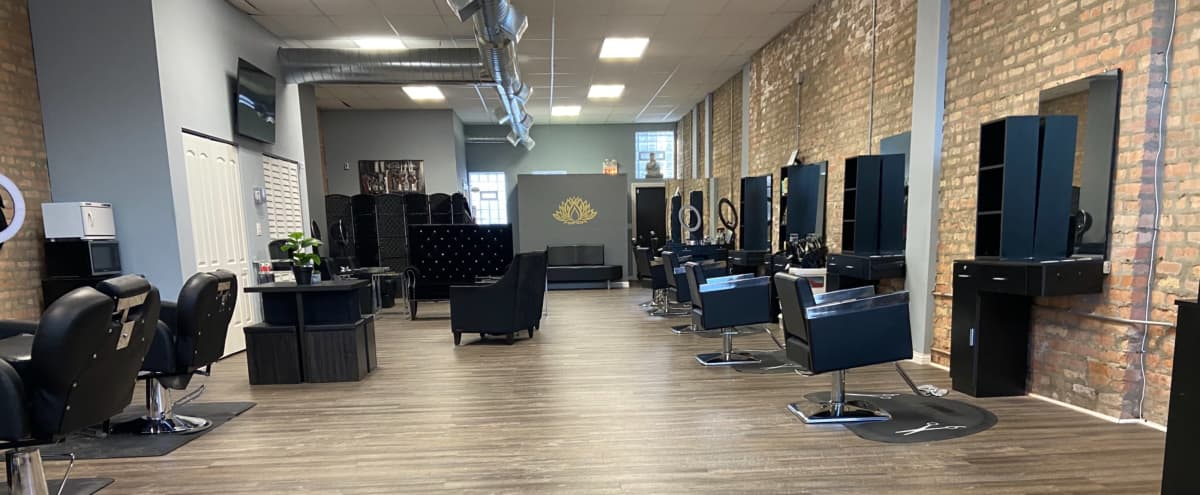 Urban Loft like Salon with Modern Decor in Chicago Hero Image in South Side, Chicago, IL