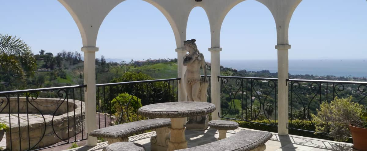 Stunning Riviera Villa 360 Degree Ocean, City, & Mountain Views in Santa Barbara Hero Image in Riviera, Santa Barbara, CA