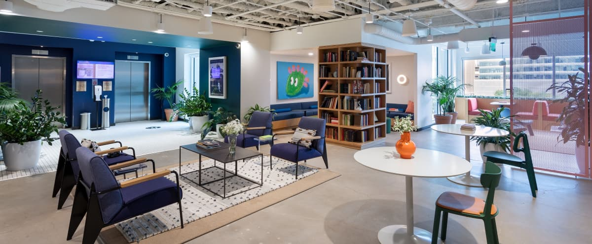 Fun, bright, and open flexible lounge space with unique design! in Austin Hero Image in Downtown Austin, Austin, TX