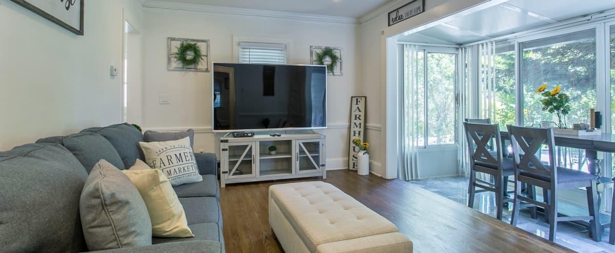 Glamorous, Private Home in the Heart of Buckhead in Atlanta Hero Image in Peachtree Park, Atlanta, GA