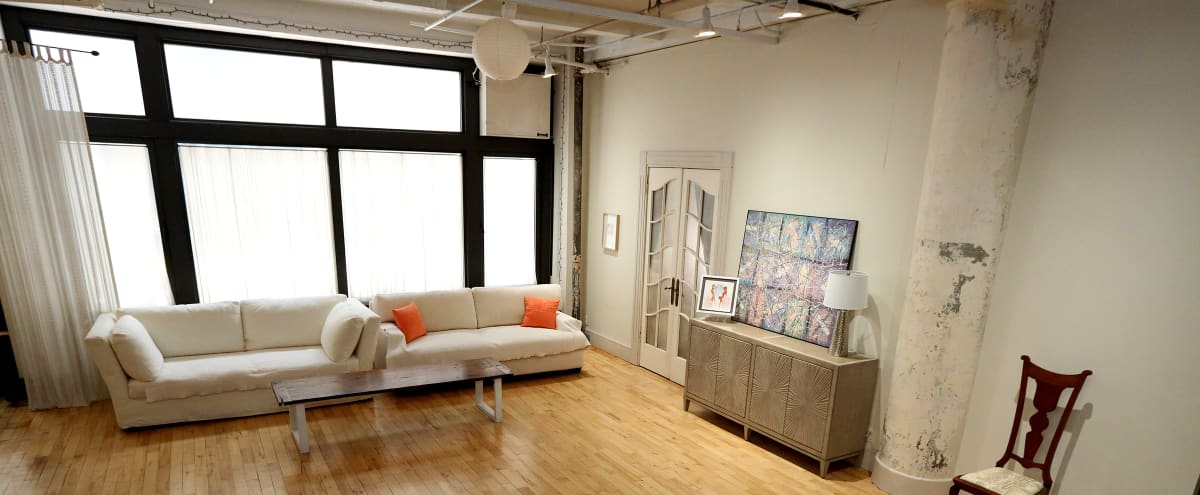Chelsea Loft with Natural Light in New York Hero Image in Chelsea, New York, NY