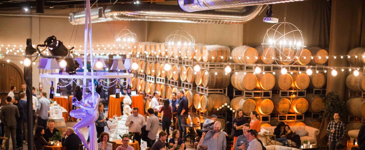 Spacious Industrial Chic Winery in San Carlos Hero Image in undefined, San Carlos, CA