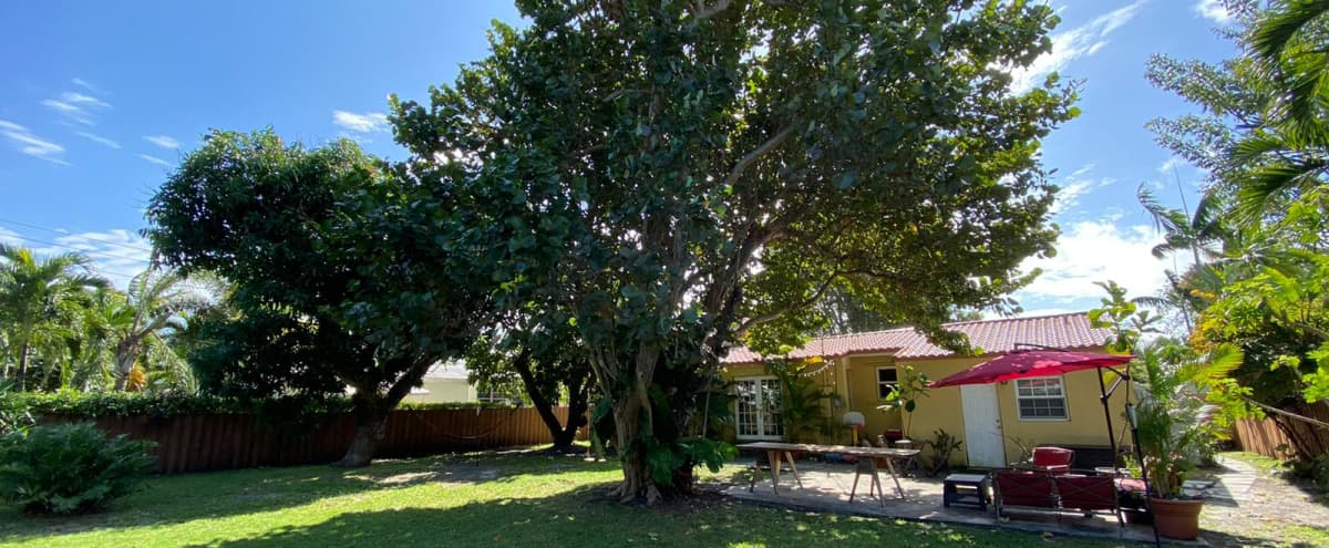 Miami shores home with magical backyard in Miami shores Hero Image in undefined, Miami shores, FL
