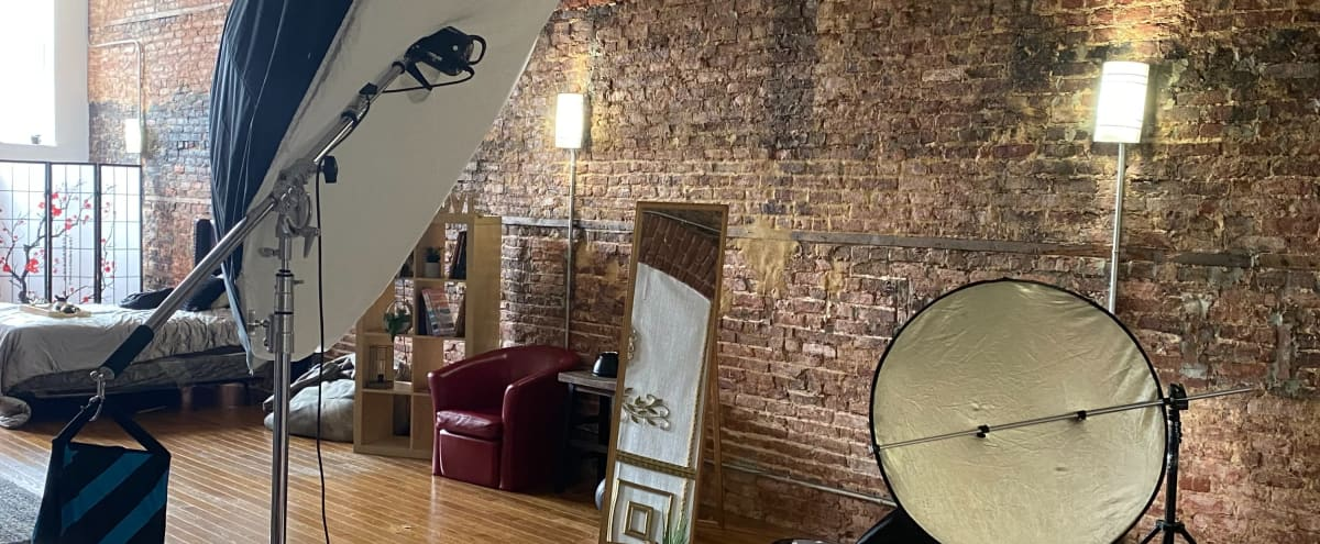 2000 sq ft. Studio located in Downtown Art District of Baltimore (Studio A+B) in Baltimore Hero Image in Station North, Baltimore, MD