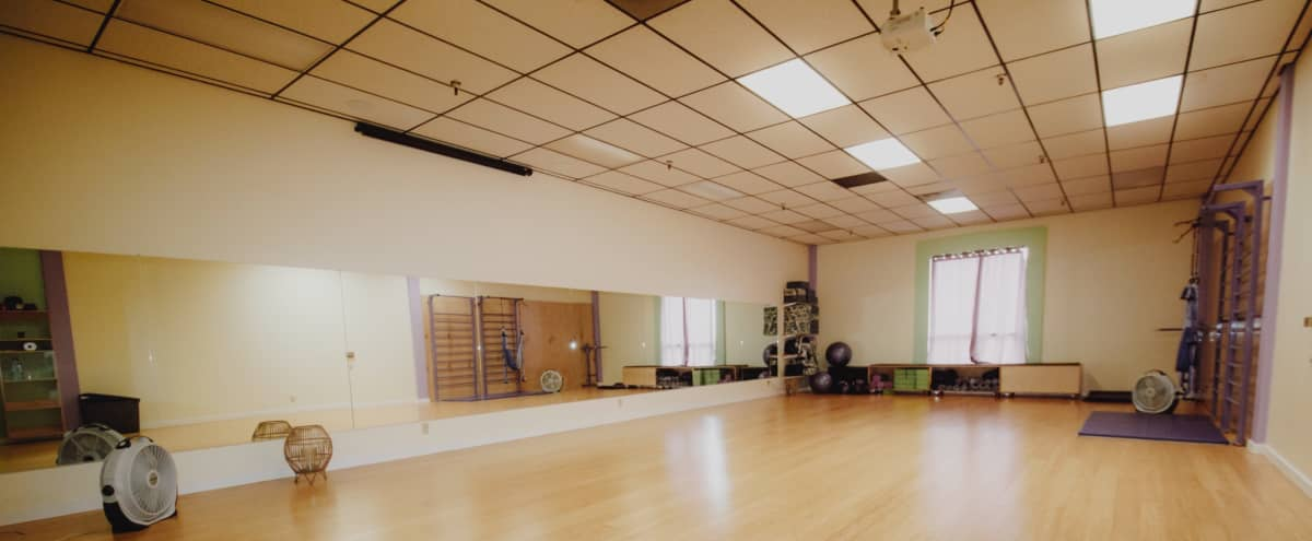 Private Yoga, Dance and Fitness Studio classes in Long Beach Hero Image in Los Altos, Long Beach, CA