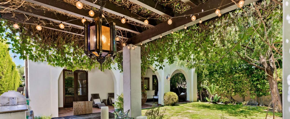 Enchanting Outdoor Space in the Heart of Beverly Grove in Los ANgeles Hero Image in Beverly Grove, Los ANgeles, CA