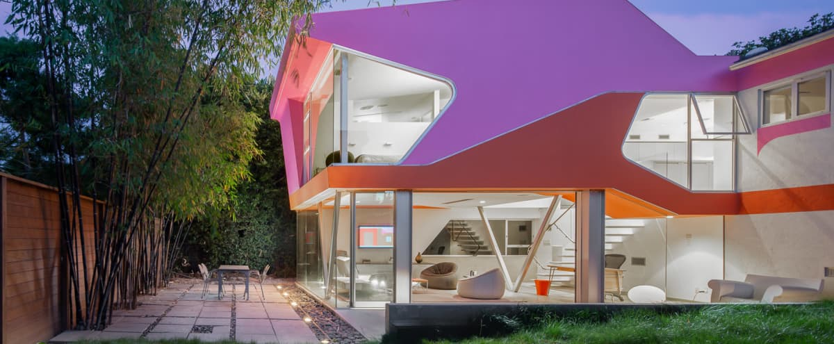 Modern Architectural Gem Flooded With Natural Light in Los Angeles Hero Image in Palms, Los Angeles, CA