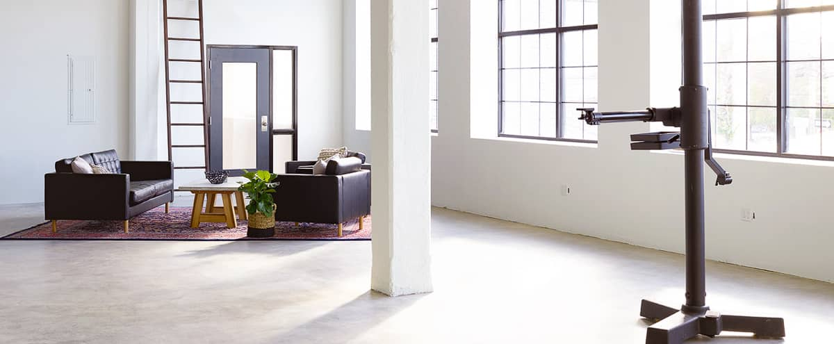 Modern Studio for Creative Events with Full Kitchen, Beautiful Daylight, Free Parking in Boston Hero Image in Harbor View / Orient Heights, Boston, MA