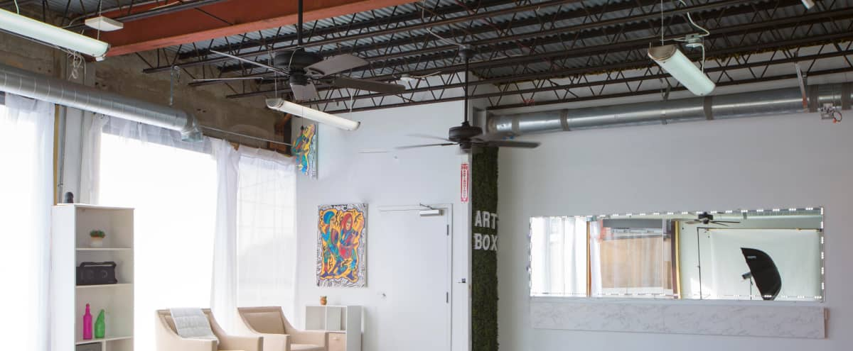 Spacious Loft with Outdoor Terrace in East Point Hero Image in Downtown, East Point, GA
