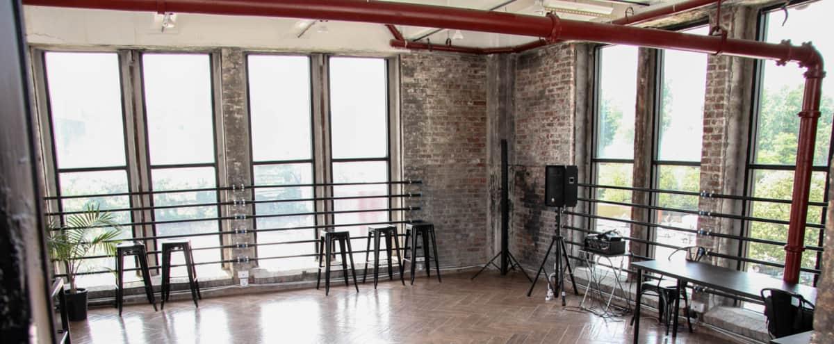 Duplex Loft with Plenty of Sunlight in Brooklyn Hero Image in Prospect Park South, Brooklyn, NY