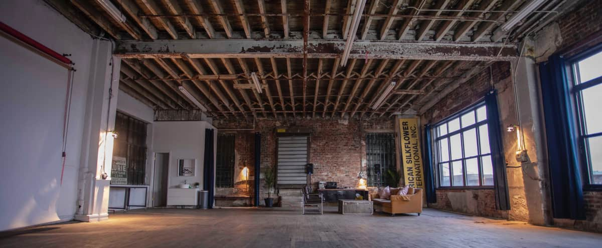 Unique Industrial Loft Space in Brooklyn Hero Image in East Williamsburg, Brooklyn, NY
