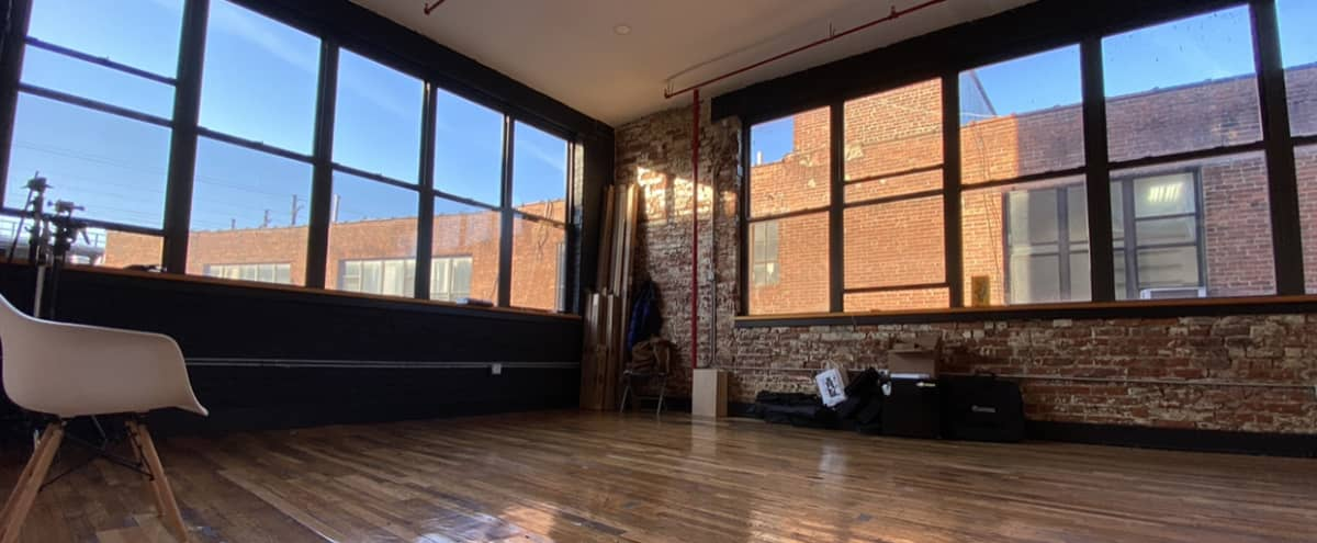 Boutique Natural Light Studio with North and West Facing Windows in Bronx Hero Image in Port Morris, Bronx, NY